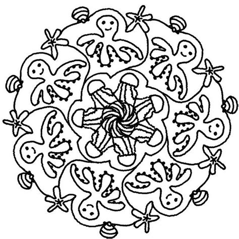 summer mandala coloring pages coloring page summer s mandalas estiu pinterest