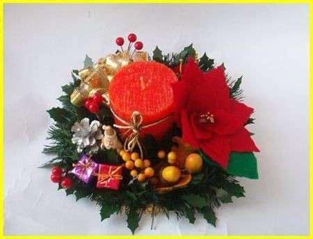 tavoli natalizi natale 2008 preparare i centrotavola pourfemme