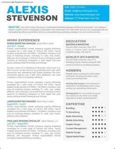 Cool Resume Templates by Cool Resume Templates Word Resume Format Pdf