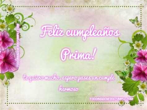 imagenes graciosas de cumpleaños para una prima tarjetas de feliz cumplea 241 os para una prima