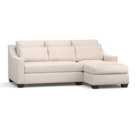 deep seat sectional with chaise york slope arm deep seat upholstered chaise sofa sectional