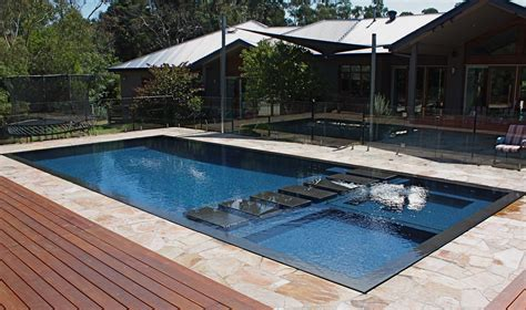 Stainless Steel Deck Level Pool Design Idolza Swimming Pools Design And Construction