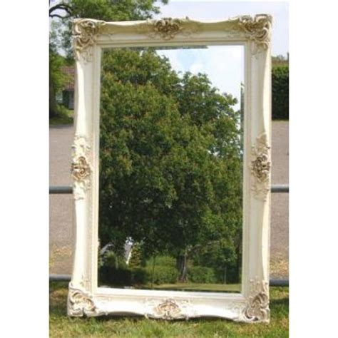 4ft X 3ft Frameless Mirror by Ivory Antique 6ft Monaco Mirror Ayers