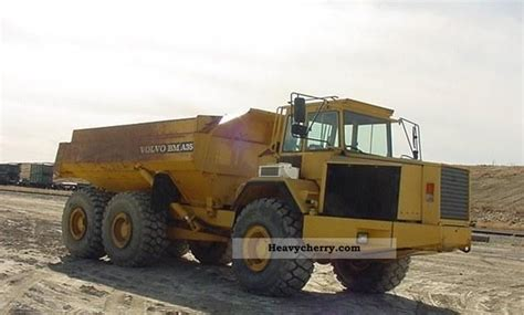 volvo a35 1993 dumper truck photo and specs