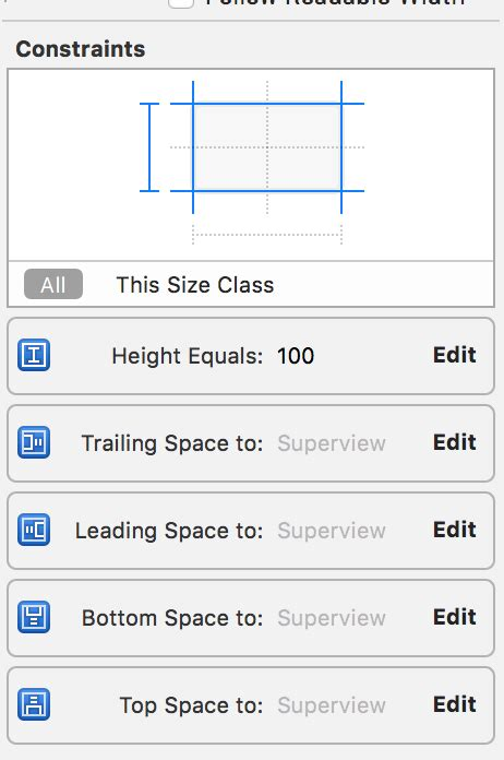 uiview encapsulated layout height uitableview dynamic cell height conflict height not d