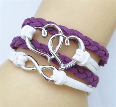 Handmade Infinity Bracelet - fashion handmade infinity antique silver friendship charm