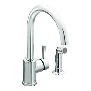 moen single kitchen faucet faucet 7106 in chrome by moen