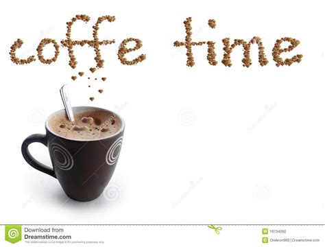 Coffe Time Maxy coffe time stock photo image of morning cappuccino 16734092