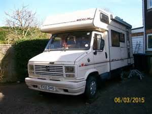 Westfalia Awning Talbot Merlin Coach Built Motorhome Sold 1987 On Car And