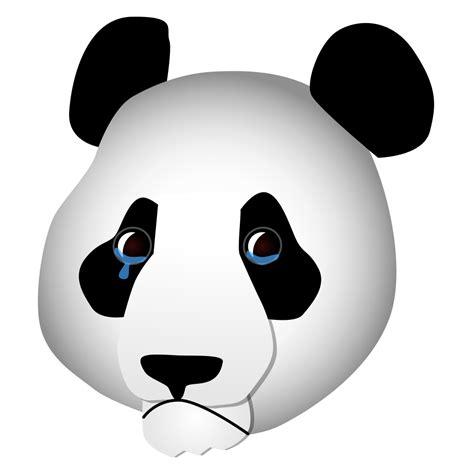 imagenes sad png file sad panda svg wikimedia commons