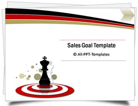 Powerpoint Sales Goals Template Sales Pitch Template Powerpoint