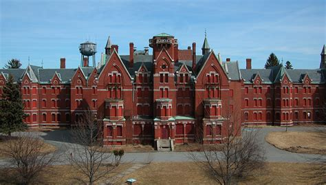 abandoned places in ma danvers state hospital danvers massachusetts usa