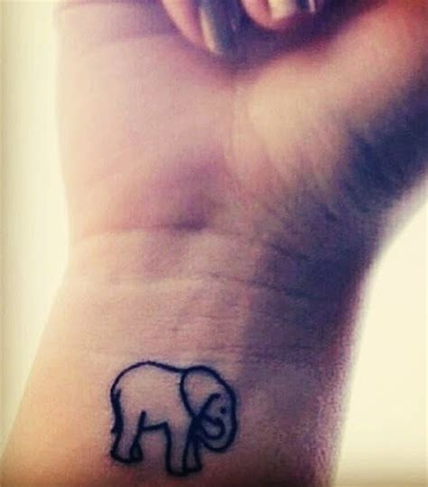 elephant infinity tattoo top 55 cute and attractive wrist tattoos designs you must