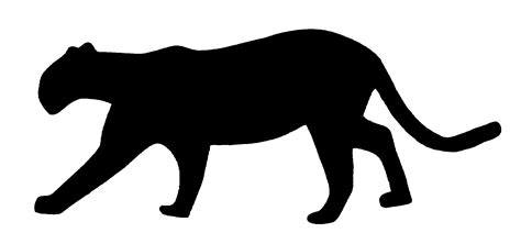 jaguar clipart jaguar cat silhouette