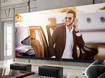 Image result for What is the biggest 4K Tv?. Size: 217 x 160. Source: www.theverge.com