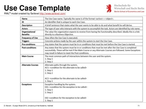 use template modelling software requirements important diagrams and