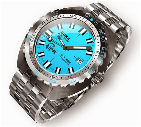 doxa dive oceanictime doxa sub 1500t project aware 2
