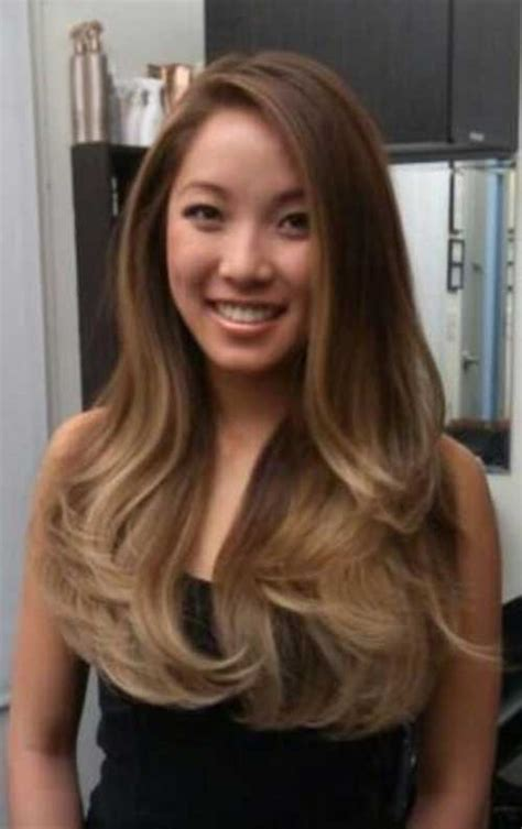 ombre hair on asian 20 asian with long hair hairstyles haircuts 2016 2017