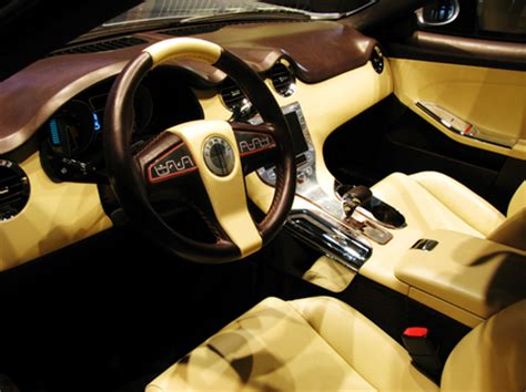 Fisker Interior by Detroit Fisker Showcases The Sexiest In Hybrid
