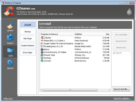 ccleaner latest update download the latest ccleaner update filehippo news