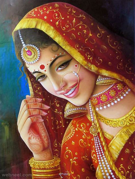 beauty india digital 50 most beautiful indian paintings from top indian artists