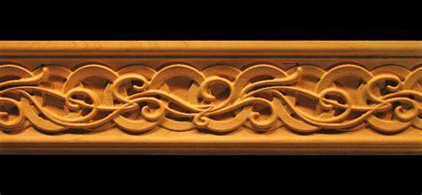 Moulding   Celtic Nouveau Carved Wood