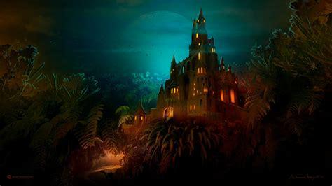 lilliput castle dark night wallpapers hd wallpapers id
