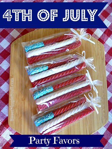 4th Of July Favors by 4th Of July Favors Sweet Simple Stuff