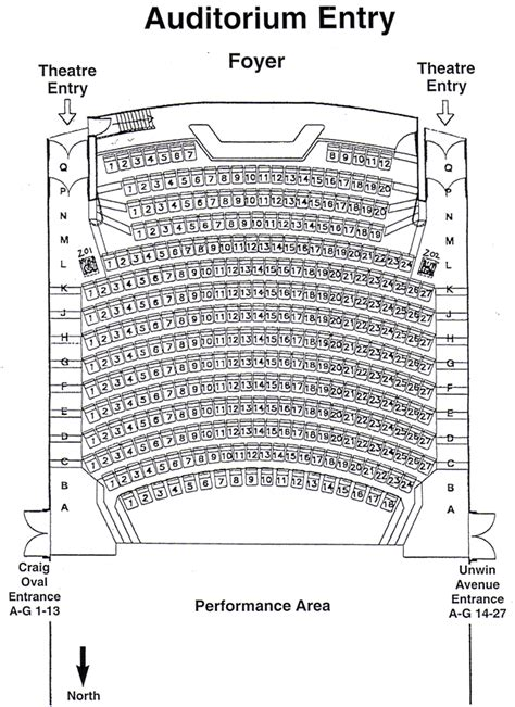 Floor Plans With Dimensions seating plan hale school auditorium