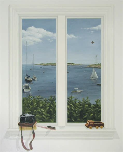 fake window trompe l oeil window 187 rachel mello