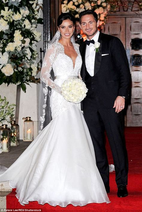 Frank Lampard shares wedding snap of he and Christine