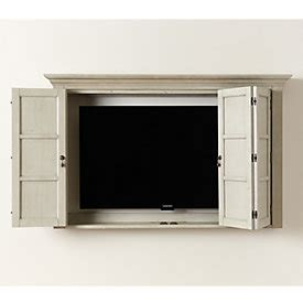 shutter tv wall cabinet modern tv wall cabinet in shutter tv ballard designs