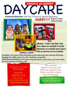 daycare flyer templates free day care flyer template