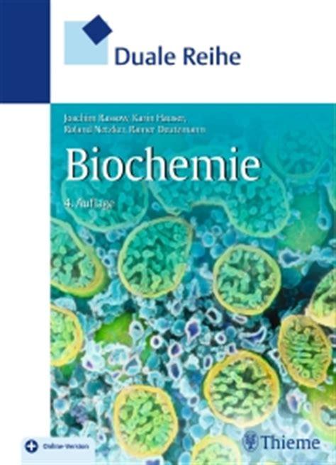 duale reihe innere medizin rezension quot duale reihe biochemie 4 auflage quot medizin