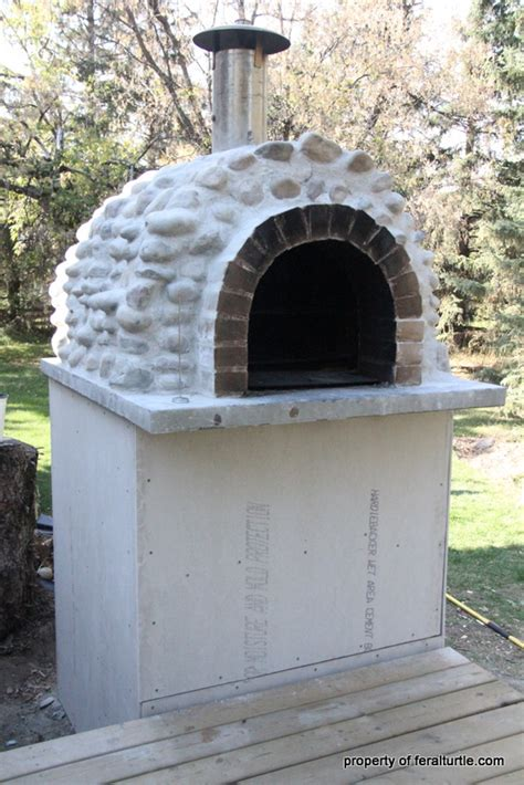 stovetop pizza oven the feral turtle rocket stove pizza oven part 4