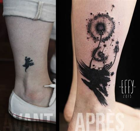 ankle tattoo cover ups 55 cover up tattoos impressive before after photos