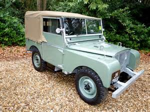 1948 land rover series one silverstone auctions