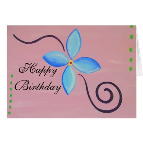 Happy Birthday Card Template by Happy Birthday Blank Card Template Zazzle