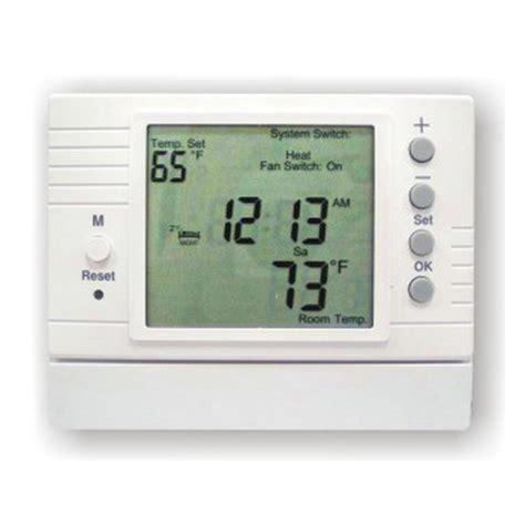 Radiant Floor Thermostat by D 500 Azel Technologies D 500 Digital Programmable