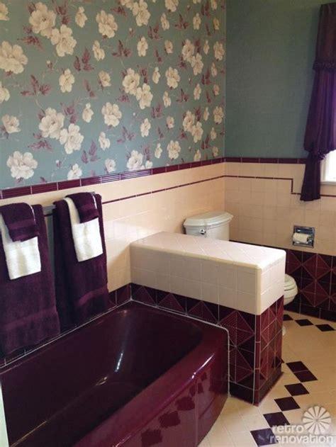 jodi saves   maroon  pink bathroom  amazing