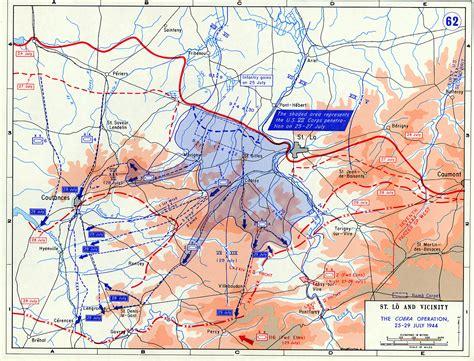 breakout map operation cobra and world war ii