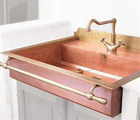 Retro Kitchen Sinks 33 Modern Interior Design And Decorating Ideas Bringing Soft Glow Of Copper Accents Into Homes