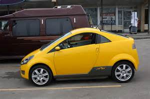 Electric Car Yellow Quot The Yellow Electric Car Quot Flickr Photo