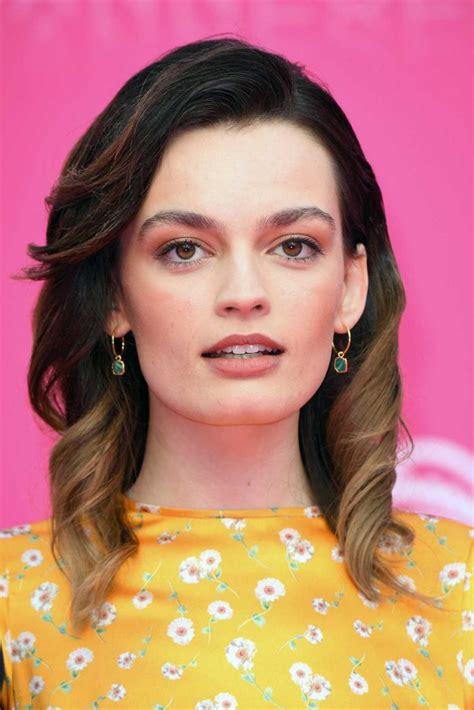 emma mackey attends  pink carpet    canneseries  cannes  celebslacom