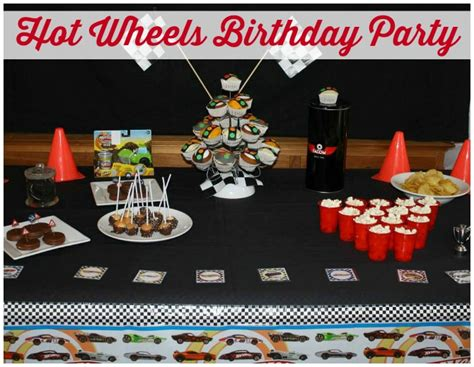 wheels birthday party