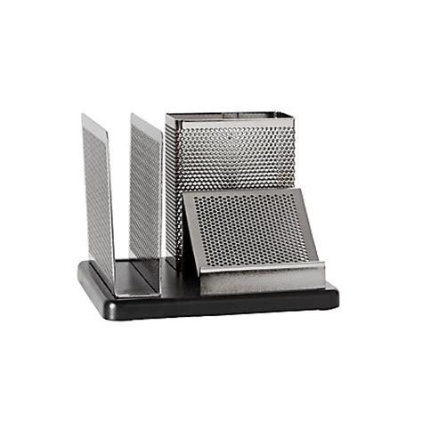 rolodex desk organizer rolodex distinctions punched metal and wood desk organizer
