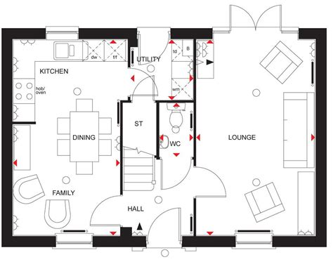 sle house design floor plan detached house for sale in david wilson homes floors floor