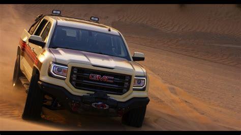 gmc of the desert gmc desert fox concept truck makes appearance at ign
