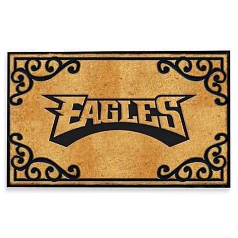 philadelphia eagles outdoor mat buy nfl philadelphia eagles door mat from bed bath beyond