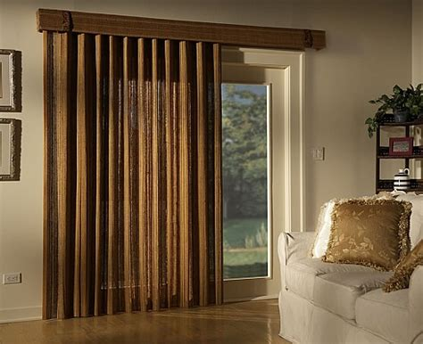 Patio Door Covers Bamboo Folding Panel Great As Patio Door Blinds And As Room Dividers Blindsshopper